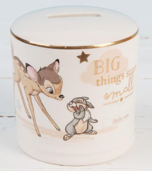 Widdop, Disney by Widdop, DIsney Classic, Walt Disney Disneyfigur, Disney Figur, Disney Magical Beginnings, Bambi, Keramikspardose, Spardose, Money Bank