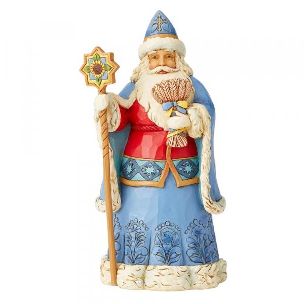 Heartwood Creek, Jim Shore, Around the World, Ukrainian Christmas, Santa, Weihnachtsmann