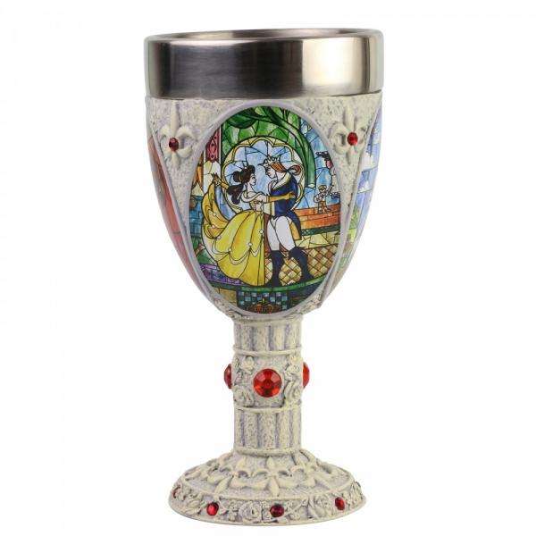 Disney Showcase, Walt Disney, Goblet, Kelch, Beauty and the Beast Goblet, 6007188