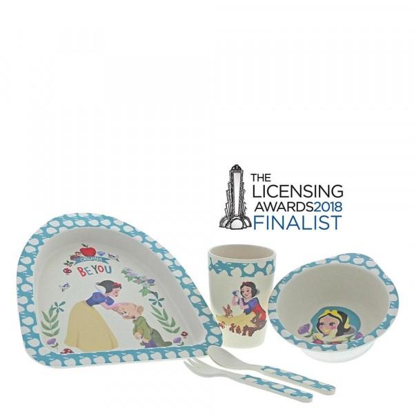 Enchanting Disney, Bambus Geschirrset, Bamboo Dinner Set, Schneewittchen, Snow White