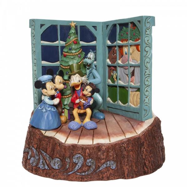 Disney Traditions , Jim Shore, a Christmas Carol, Eine Weihnachtsgeschichte, Charles Dickens, Carved By Heart, Disneyfigur, Disney Figur, Folkart, Volkskunst, 6007060