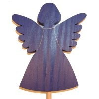 Engel, blau