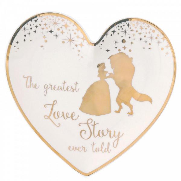 Enchanting Disney Collection, Walt Disney, Belle Wedding Ring Dish, Die Schöne und das Biest, Ringteller, Hochzeit, Hochzeitsgeschenk, A29336