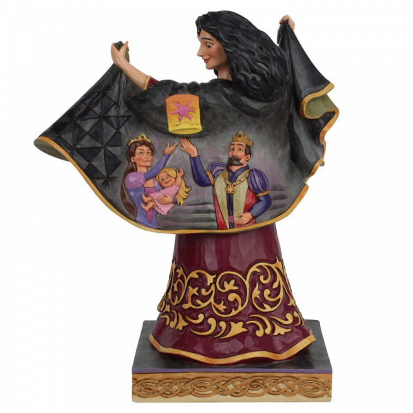 Disney Traditions , Jim Shore, Disneyfigur, Disney Figur, Rapunzel, Mother Gothel, Mutter Gothel, 6007073