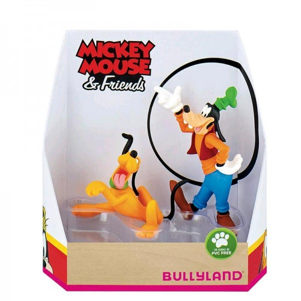 Bullyland, Mickey & Friends, Geschenkset, Goofy, Pluto, Goofy & Pluto