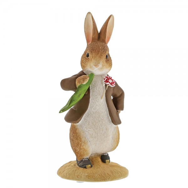 Beatrix Potter, Beatrix Potter Collection, Peter Rabbit, Benjamin Bunny, Flopsy, Jemima Puddle-Duck, Jeremy Fisher, A30110, Benjamin ate a Lettuce Leaf