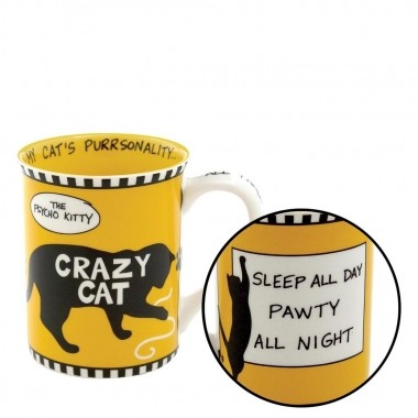 Crazy Cat Becher