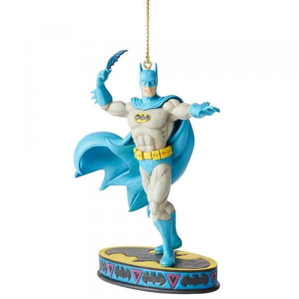 Disney Traditions, Jim Shore, Silver Age - DC Comics Justice League, Batman Ornament / Anhänger