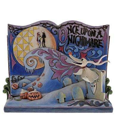 DIsney Traditions, Jim Shore - Once Upon A Nightmare Storybook / A Nightmare Before Christmas