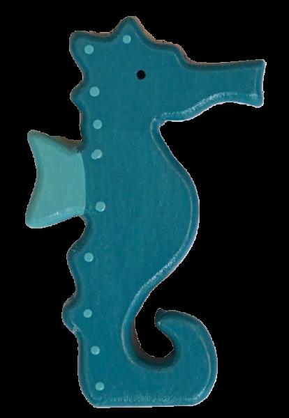 Sebastian Design, Kerzenring, Kerzenringe, Candle Ring, Candlerings, Holzkranz, Steckfigur, maritim, Seepferdchen