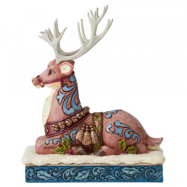 Heartwood Creek, Jim Shore, Calm Before The Eve, Reindeer, Rentier