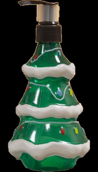 Widdop, The North Pole Novelties by Santa's Workshop, Flüssigseife im Spender, weihnachtliche Seife, Tannenbaum-Seifenspender, Seifenspender, XM8501, XM8501b