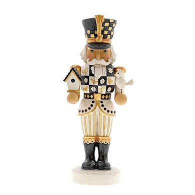 Heartwood Creek, Jim Shore, Black & Gold, Sentinel of the Season Nutcracker, Nussknacker, 6001437