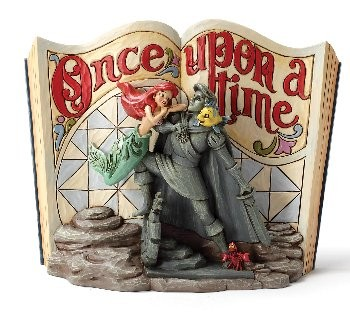 Disney Traditions, Jim Shore - Under Sea Dreaming - Storybook Arielle
