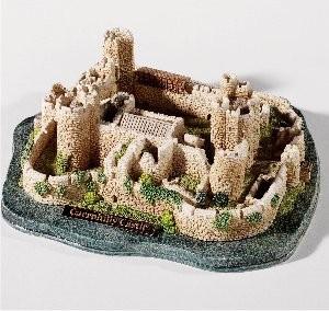 Lilliput Lane, Miniaturhäuser, Miniaturhaus, Cottage, Caerphilly Castle