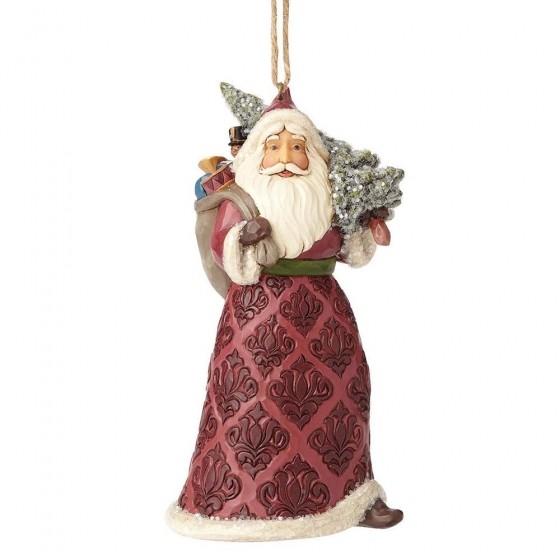 Heartwood Creek, Jim Shore, Victorian Santa Ornament, Weihnachtsmann, Anhänger