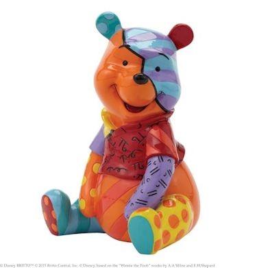 Romero Britto Pop Art aus Miami - Winnie The Pooh / WInnie Puuh