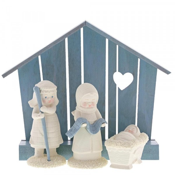 Kristi Jensen Piero, Snowbabies, Department 56, Nativity, Christi Geburt