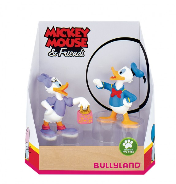 Bullyland, Mickey & Friends, Mickey Mouse, Micky Maus, Donald Duck, Donald, Daisy Duck, Daisy