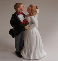 Gilde Handwerk, Gilde, Just Married, Hochzeitspaar, Tortenfigur