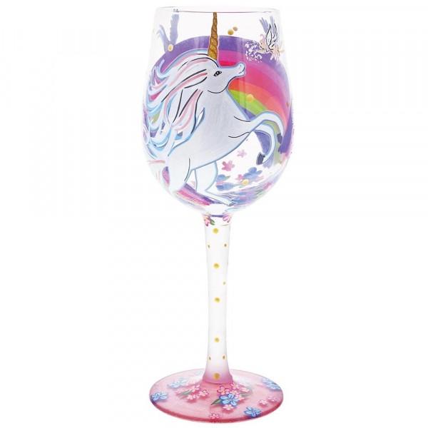 Lolita Glas, Lolita Gläser, Lolita Weinglas, Lolita Weingläser, Unicorn Wine Glass, Einhorn Weinglas
