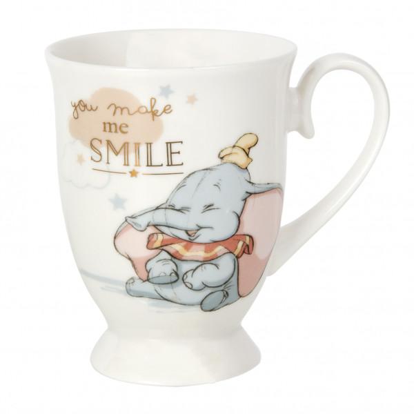 Disney, Walt Disney, Widdop and Co, Disney Magical Beginnings, Dumbo Mug, Dumbo Becher, You Make Me Smile, DI363