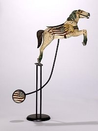 Amerikanisches Karusselpferd