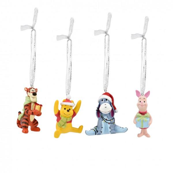 Disney, Walt Disney, Widdop and Co, Disney, Hanging Decoration, XM8670, Weihnachtsanhänger, Winnie Puuh Weihnachtsschmuck, Winnie the Pooh Christmas Ornaments, Winnie Puuh, Tigger, Eeyore, I-Aah, Piglet, Ferkel