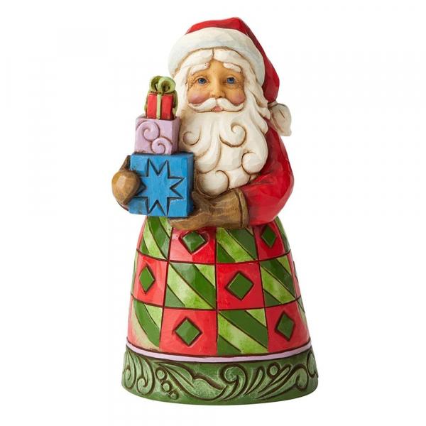 Heartwood Creek, Jim Shore, Delivered With Love, Weihnachtsmann mit Geschenken