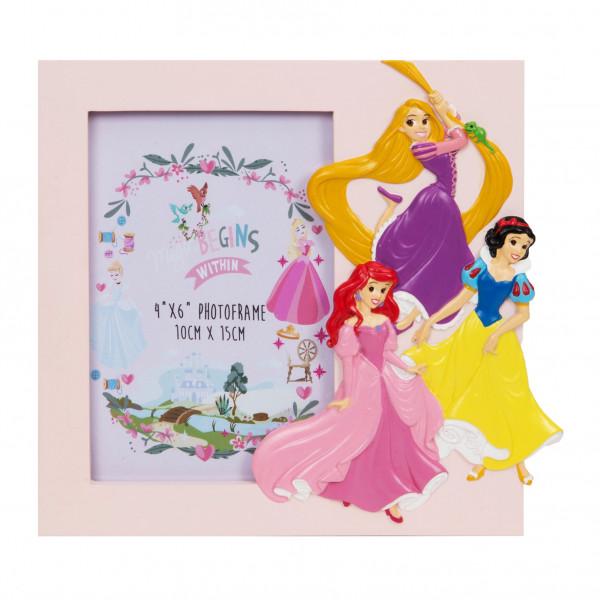 Bilderrahmen in rosa für Prinzessinnen - rechteckig