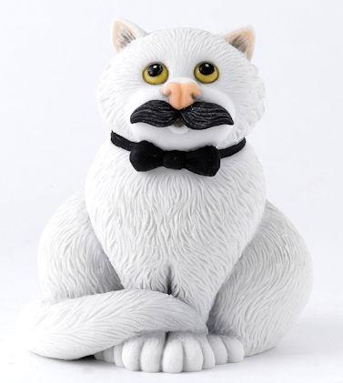Comic Curious Cats, Border Fine Arts, Movember