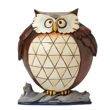 Heartwood Creek Jim Shore, Wise and Well Rounded, Owl, Eule
