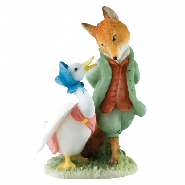 Beatrix Potter, Beatrix Potter Collection, Peter Rabbit, Benjamin Bunny, Flopsy, Jemima Puddle-Duck, Jeremy Fisher, A27676, Jemima & The Foxy Whiskered Gentleman