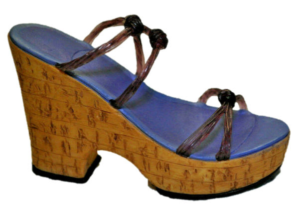 Just the right shoe, Raine, Cork Wedge, 25093