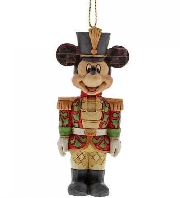 DIsney Traditions, Jim Shore - Nutcracker Mickey Mouse Ornament, Micky Anhänger