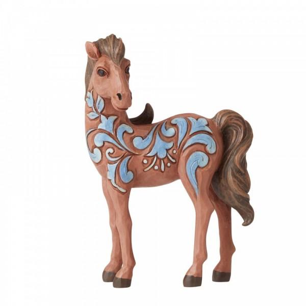 Heartwood Creek, Jim Shore, Pony Mini Figurine, Pony Minifigur, Pferd, Horse