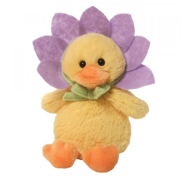 Flower Duck / Blumenente, flieder / lila