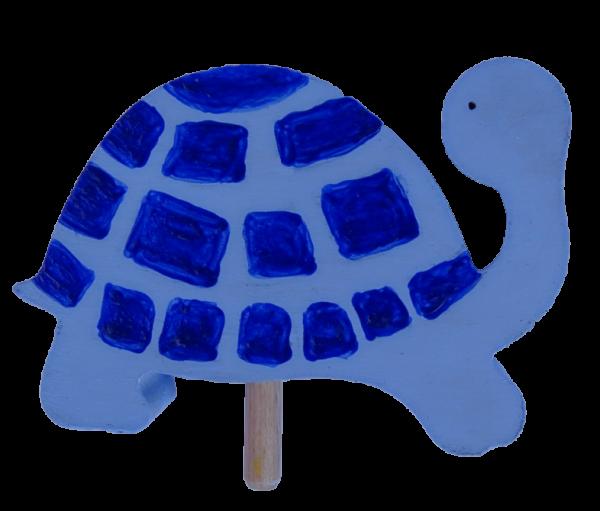Sebastian Design, Kerzenring, Kerzenringe, Candle Ring, Candlerings, Holzkranz, Steckfigur, Schldkröte, blaue Schildkröte
