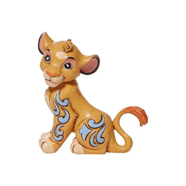 Disney Traditions, Jim Shore, Jim Shore Disney, Disney Traditions Collection, 6009001, Simba, König der Löwen, The Lion King, Simba Mini Figurine, Simba Minifigur, Jim Shore Disneyfigur