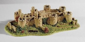 Lilliput Lane, Miniaturhäuser, Miniaturhaus, Cottage, Conwy Castle