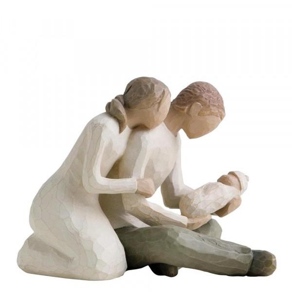 Willow Tree, Willowtree, Demdaco, Susan Lordi, New Life, Neues Leben, Baby, Geburt, Familie