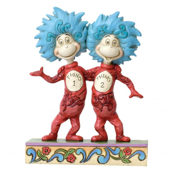 Dr. Seuss by Jim Shore, Thing 1 and Thing 2, Ding 1 und Ding 2