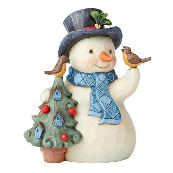 Heartwood Creek, Jim Shore, Hello Winter Snowman, Schneemann