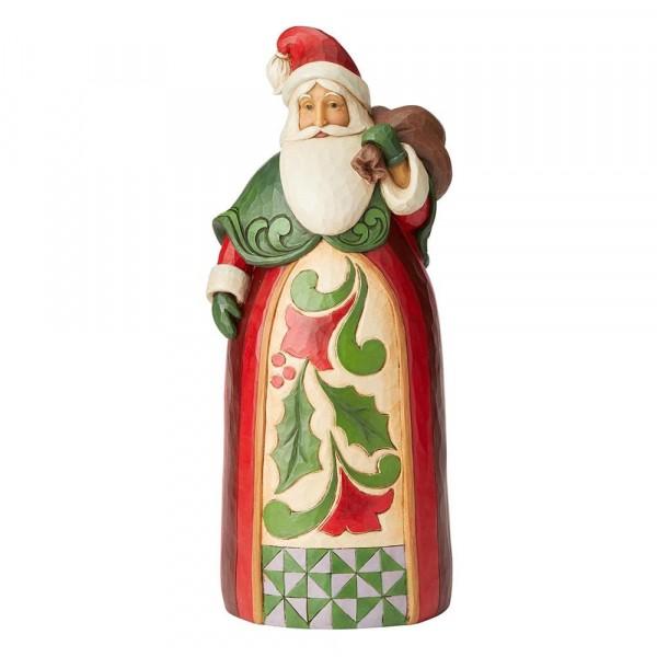 Santa with Bag Statue / Weihnachtsmann mit Sack