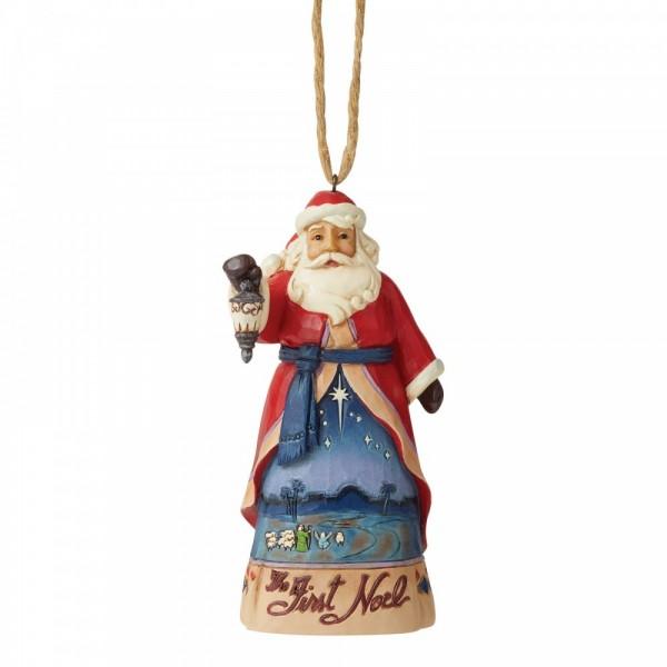 Heartwood Creek, Jim Shore, Lapland Santa, Weihnachtsmann, Ornament, Anhänger, Weihnachtsanhänger, Tannenbaumanhänger, First Noel, Erstes Weihnachtsfest