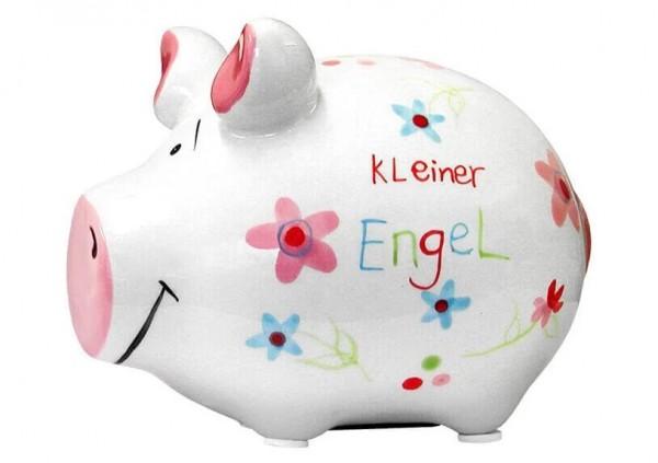 KCG Sparschweine, Best of Sparschwein, das Markenschwein, Kleinschwein, Sparschwein, Spardose, Sparbüchse, Wir sind das Schwein, Sparschwein Kleiner Engel, 101021, Geldgeschenk