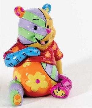 Romero Britto Pop Art aus Miami - Mini Winnie the Pooh / WInnie Puuh