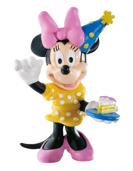 Bullyland, Walt Disney, Minnie Celebration, Party Minnie Maus, Minnie Maus, Minnie Mouse, 15339