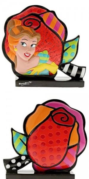 Romero Britto Pop Art aus Miami - Icon Belle Rose / Beauty & The Beast, Die Schöne und das Biest