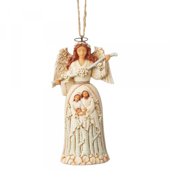 Breath of Heaven / Woodland Nativity Angel - Ein Hauch von Himmel Engel Ornament